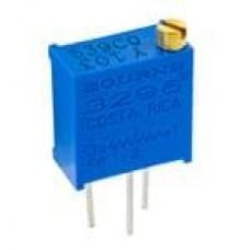 3296Y-1-101LF - Trimmer Resistors - Through Hole 3/8IN 100 OHM Sealed Vertical Adjust